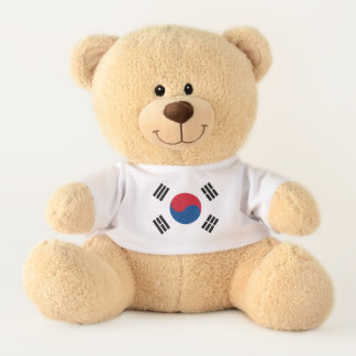 Flag of South Korea Teddy Bear