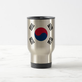 Flag of South Korea Travel/Commuter Mug