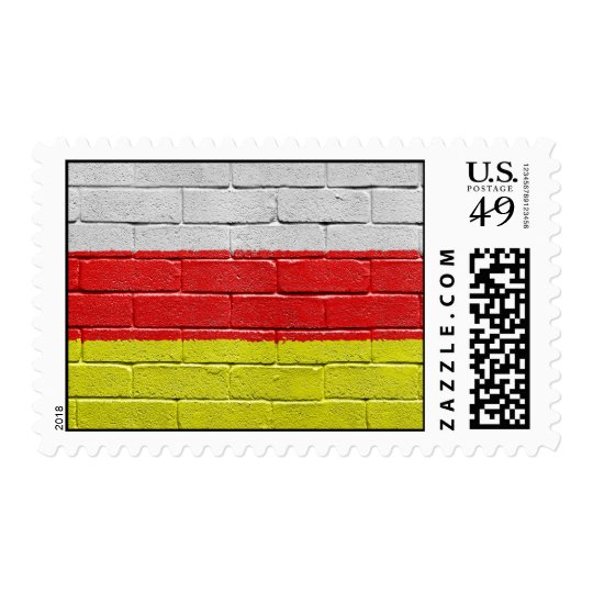 Flag of South Ossetia Postage