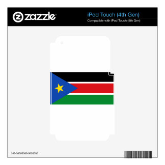 Flag_of_South_Sudan iPod Touch 4G Decal