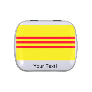 Flag of South Vietnam Jelly Belly Tins