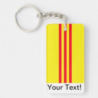 Flag of South Vietnam Keychain