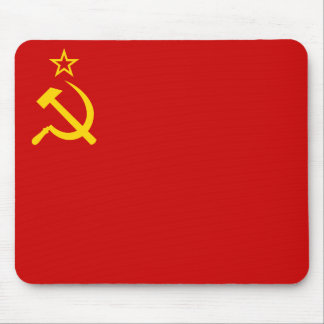 Flag of Soviet Union Mouse Pad