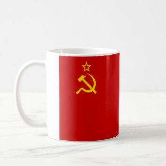 Flag of Soviet Union Classic White Coffee Mug
