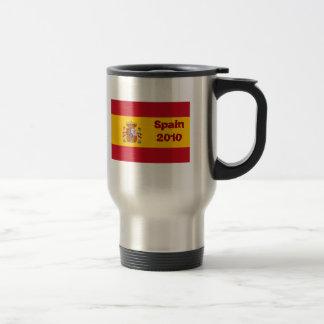 Flag of Spain 2010 Travel Mug