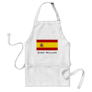 Flag of Spain Adult Apron