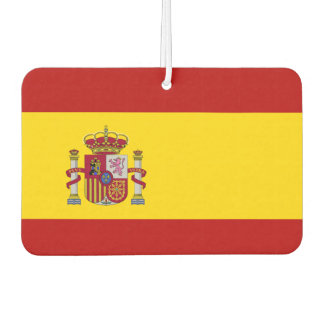 Flag of Spain Air Freshener