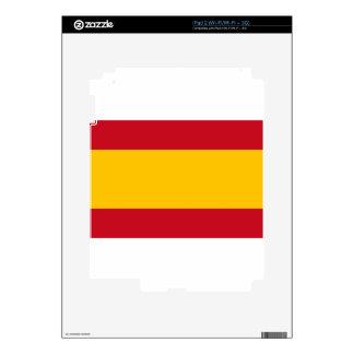 Flag of Spain, Bandera de España, Bandera Española iPad 2 Decal