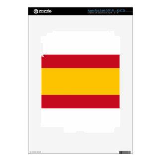 Flag of Spain, Bandera de España, Bandera Española iPad 3 Skin