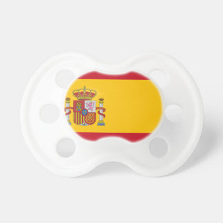 Flag of Spain - Bandera de España - Spanish Flag Pacifier