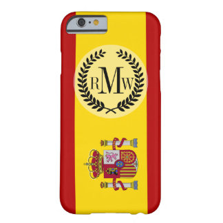 Flag of Spain Barely There iPhone 6 Case
