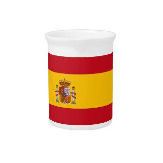 Flag of Spain Beverage Pitcher