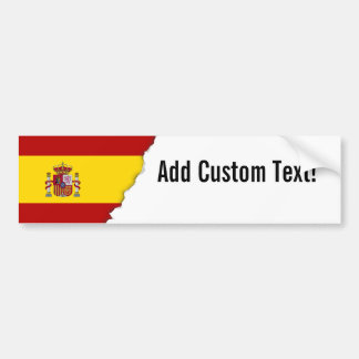 Flag of Spain Bumper Sticker