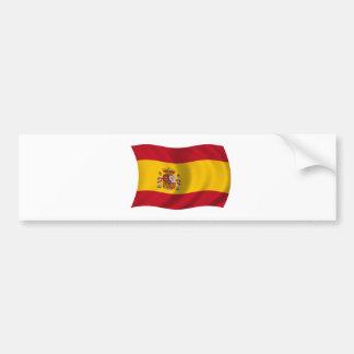 Flag of Spain Car Bumper Sticker