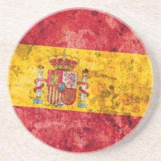 Flag of Spain Beverage Coasters