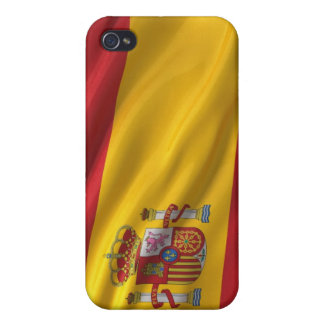 Flag of Spain Cover For iPhone 4