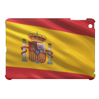Flag of Spain Cover For The iPad Mini