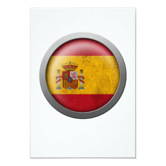 Flag of Spain Disc Personalized Invites