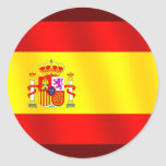 Flag of Spain for Spaniards worldwide Stickers