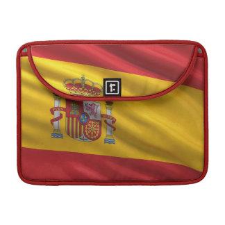 Flag of Spain MacBook Pro Sleeves