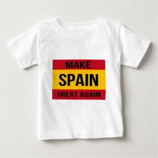 Flag of Spain - Make Spain Great Again Baby T-Shirt