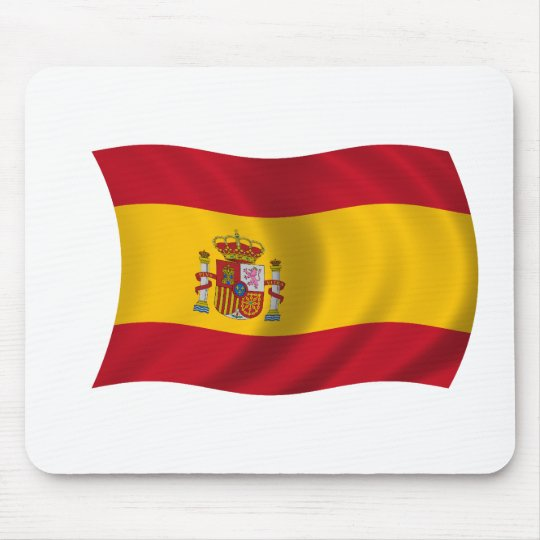 Flag of Spain Mouse Pad