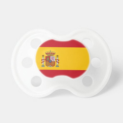 Flag of Spain Baby Pacifier