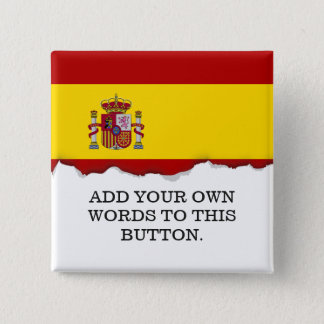 Flag of Spain Pinback Button