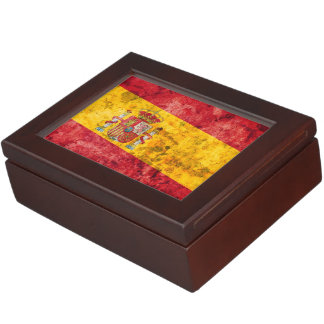 Flag of Spain Memory Boxes