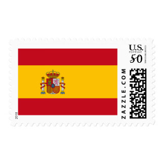 Flag of Spain Postage Stamps
