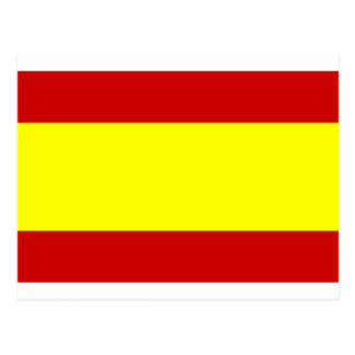 Flag of Spain Postcard
