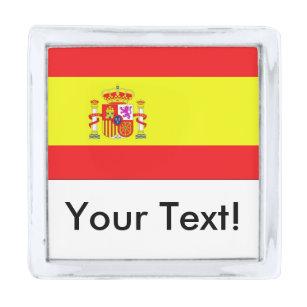 Spain Flag Lapel Pin Badge La Palma