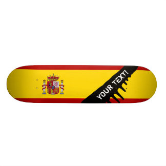 Flag of Spain Skateboard Deck