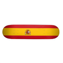 Flag of Spain Skateboard Deck