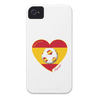 Flag of SPAIN SOCCER of national team 2014 Case-Mate iPhone 4 Case