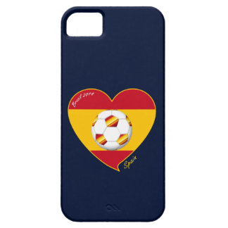 Flag of SPAIN SOCCER of national team 2014 iPhone SE/5/5s Case