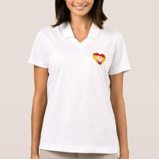 Flag of SPAIN SOCCER of national team 2014 Polo Shirt