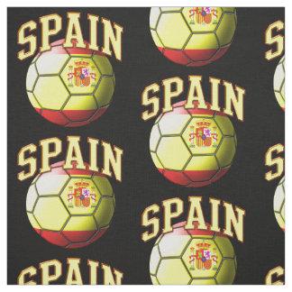 Flag of Spain Spanish Soccer Ball Pattern Fabric