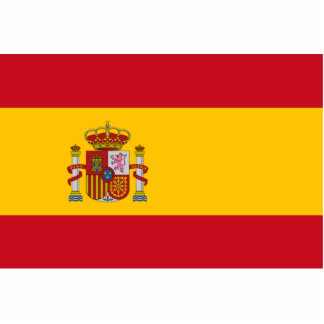 Flag of Spain Statuette