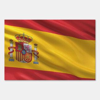 Flag of Spain Yard Signs