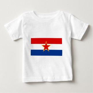 Flag of SR Croatia Baby T-Shirt