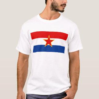 Flag of SR Croatia T-Shirt
