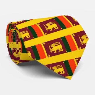 Flag of Sri Lanka Island Tie