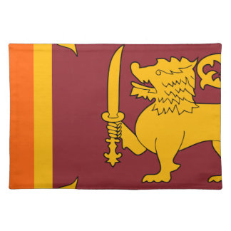 Flag_of_Sri_Lanka Placemat