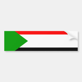 Flag of Sudan Bumper Sticker