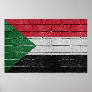 Flag of Sudan Poster