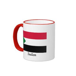 Flag of Sudan Ringer Mug