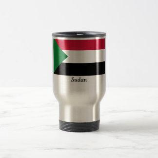 Flag of Sudan Travel Mug