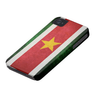 Flag of Suriname iPhone 4 Case-Mate Case