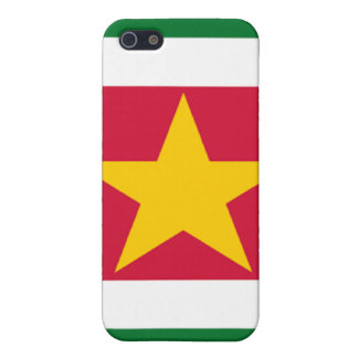 Flag of Suriname iPhone SE/5/5s Cover